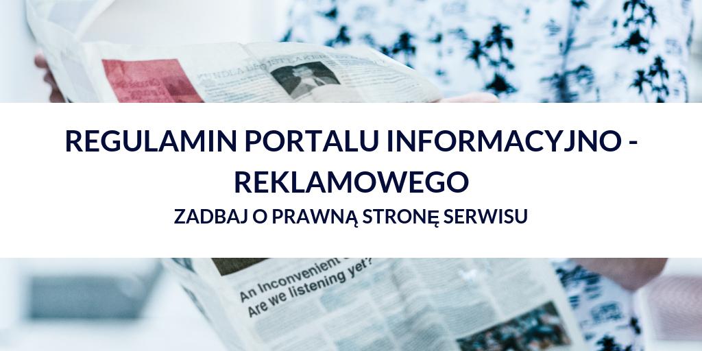 regulamin portalu informacyjnego