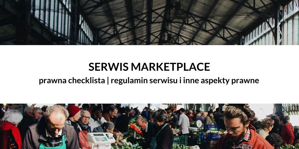 PRAWNA CHECKLISTA | Serwis sprzedażowy (marketplace) od strony prawnej
